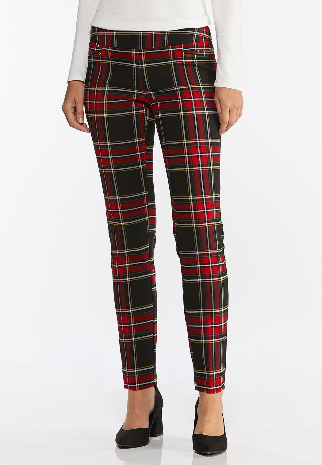 Plaid Bengaline Pants
