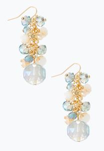 Moonlight Cluster Bead Earrings