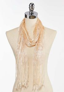 Metallic Oblong Scarf