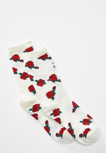 Rose Bloom Socks