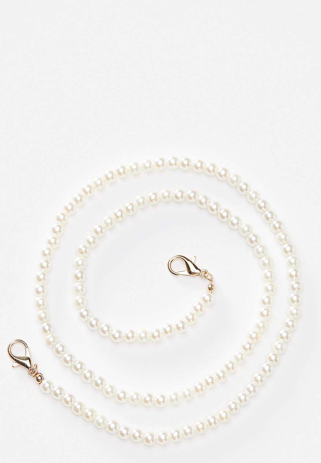 Pearl Strand Face Mask Chain