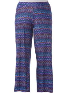 Tribal Chevron Soft Style Palazzo Pants-Plus