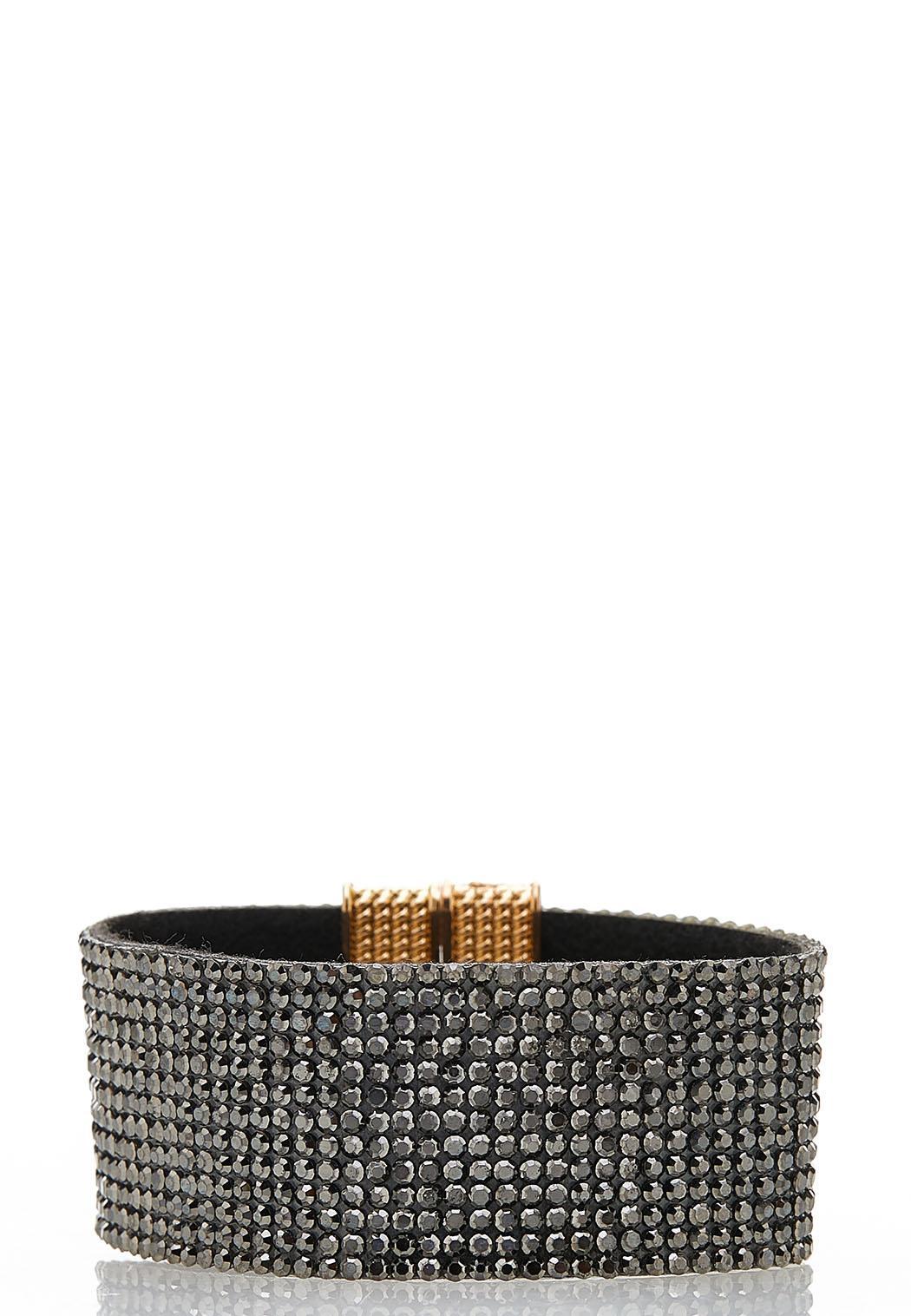Glitzy Magnetic Wrap Bracelet