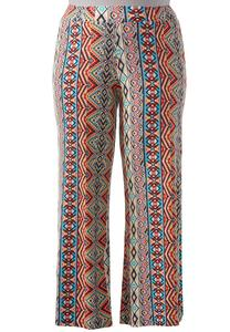 Tribal Soft Style Palazzo Pants-Plus