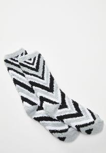 Cozy Chevron Socks