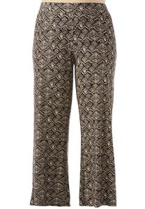 Tribal Diamond Soft Style Palazzo Pants-Plus