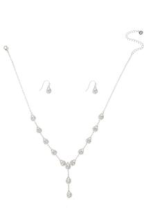 Delicate Y-Necklace Set