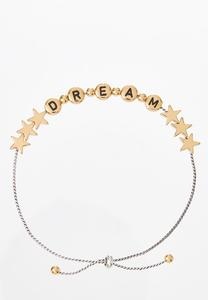 Dream Pull-String Bracelet