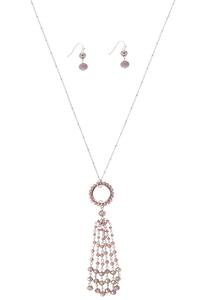 Dream Catcher Necklace Earring Set