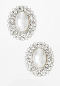 Vintage Glam Clip-On Earrings