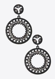 Statement Circle Earrings