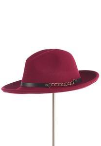 Wine Panama Hat
