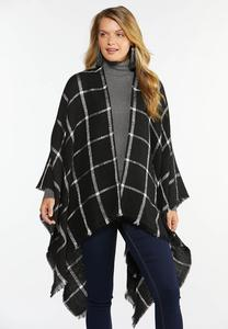 Sequin Checkered Wrap
