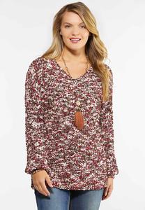 Multi Textured Sweater