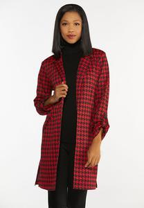 Red Houndstooth Jacket