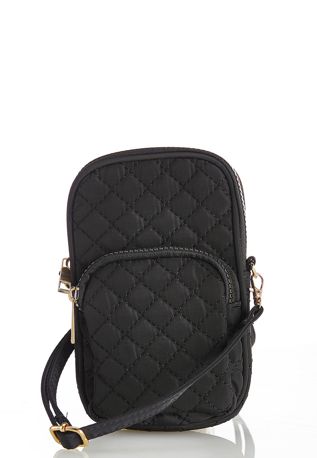Quilted Cellphone Crossbody
