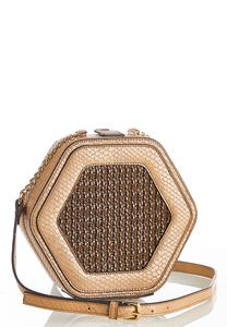Hexagon Box Crossbody