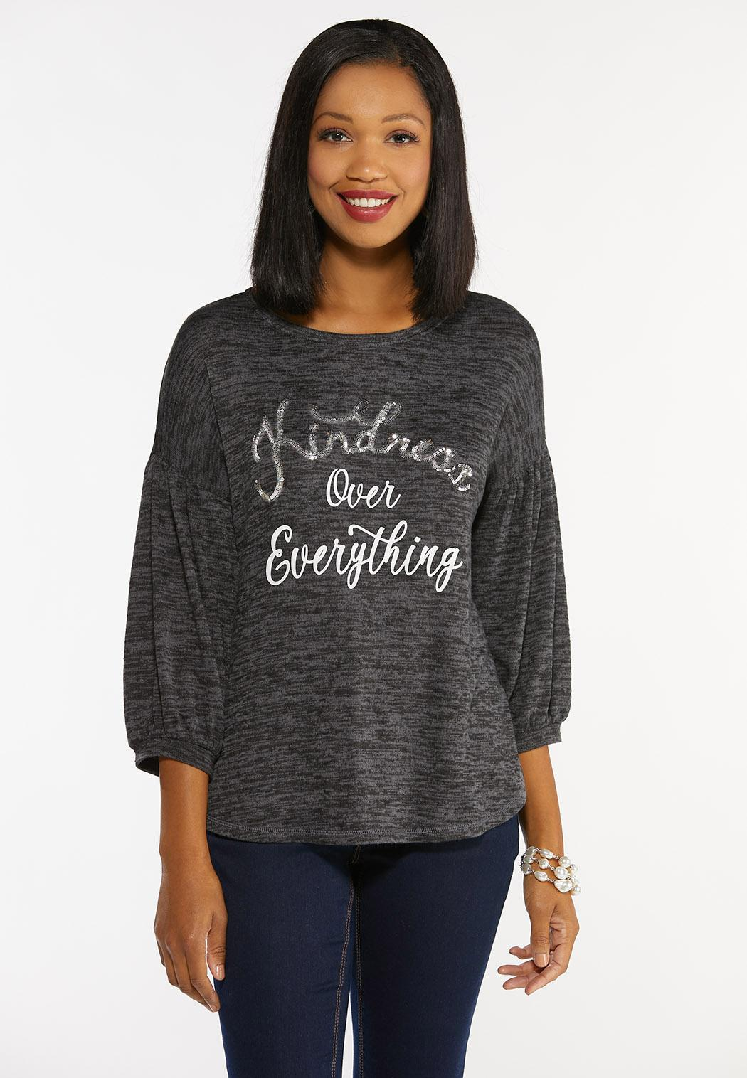 Sequin Kindness Top