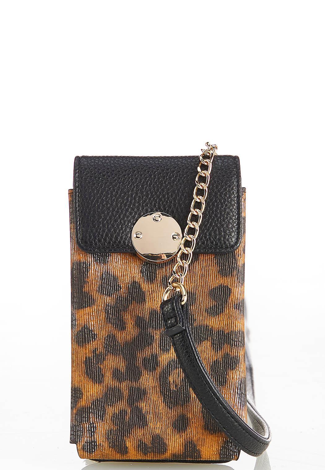 Leopard Cellphone Crossbody