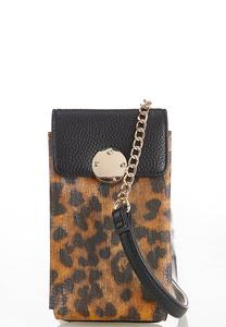 Leopard Cellphone Crossbody