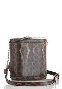 Leopard Box Crossbody