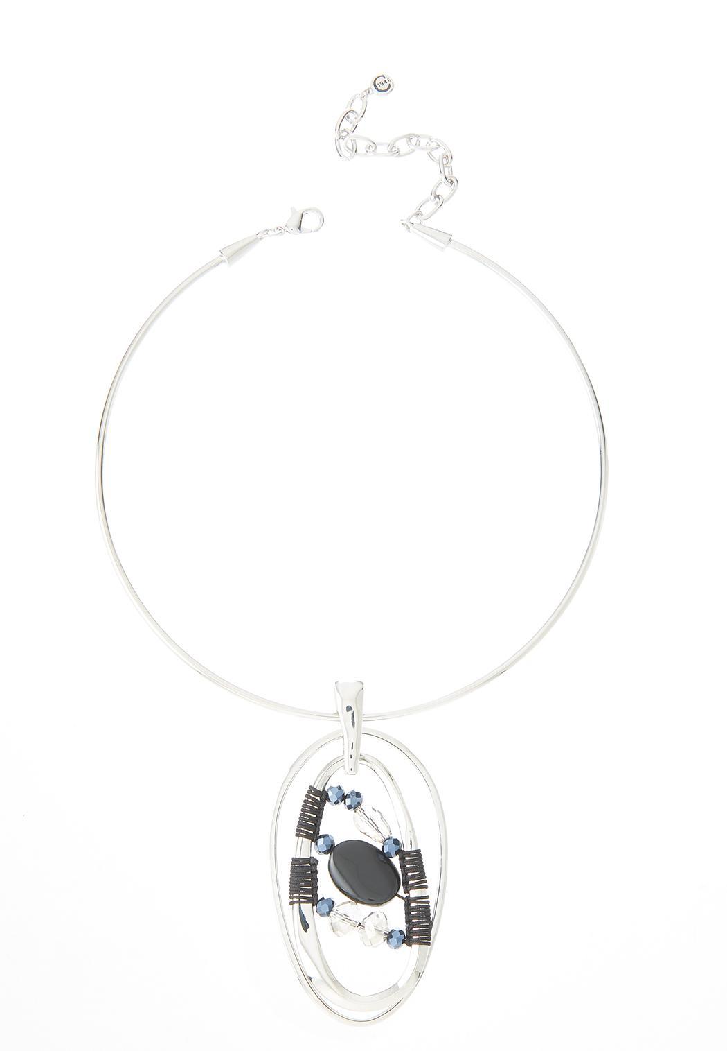 Orbital Thread Pendant Necklace
