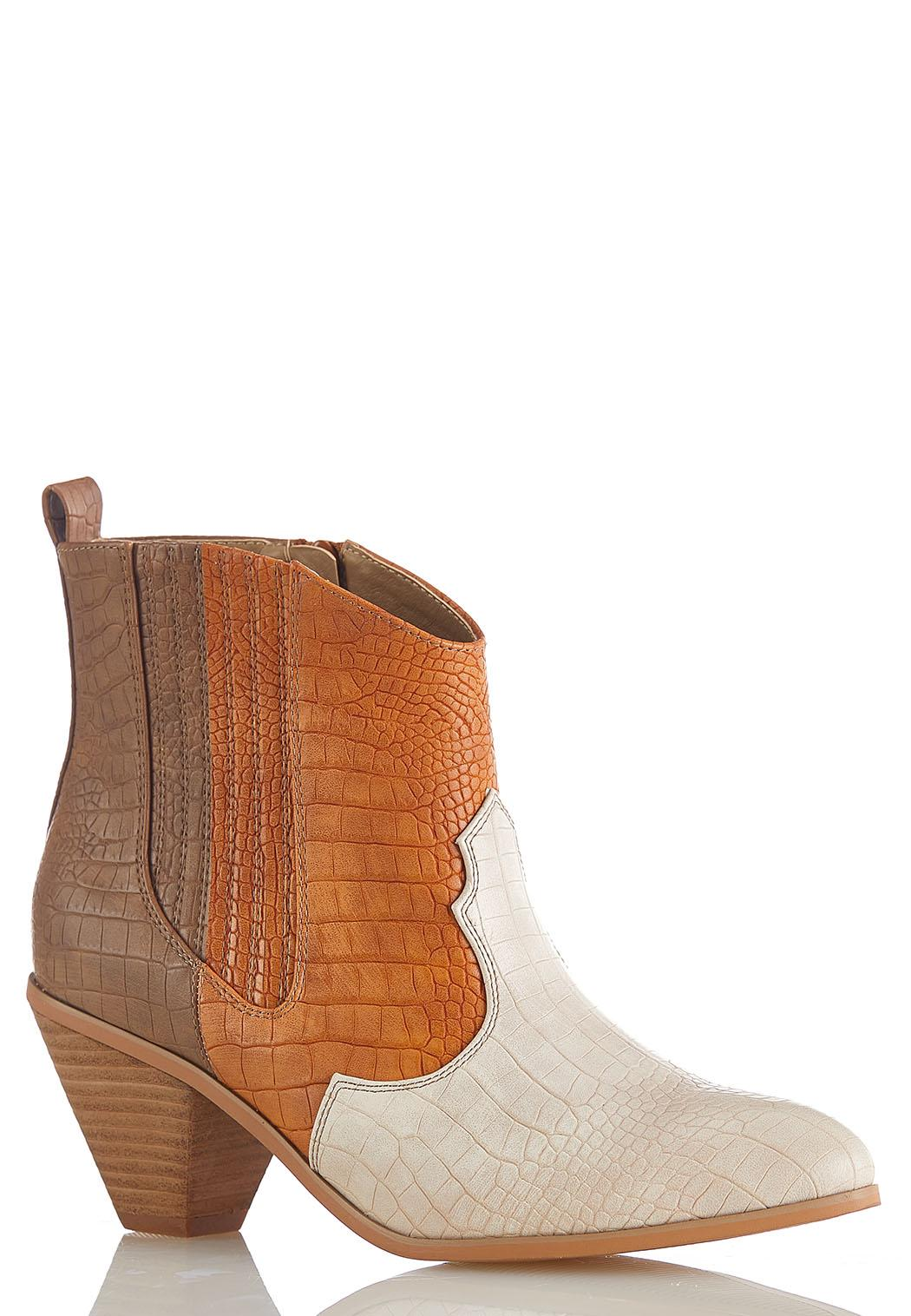 Croc Western Ankle Boots