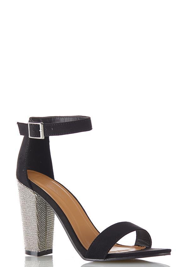 Embellished Heeled Sandals