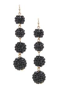 Cluster Bead Dangle Earrings