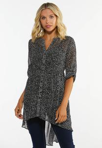 Breezy Dotted Tunic