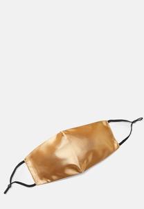 XL Gold Sateen Face Mask