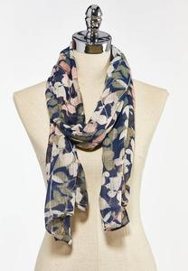 Botanical Oblong Scarf