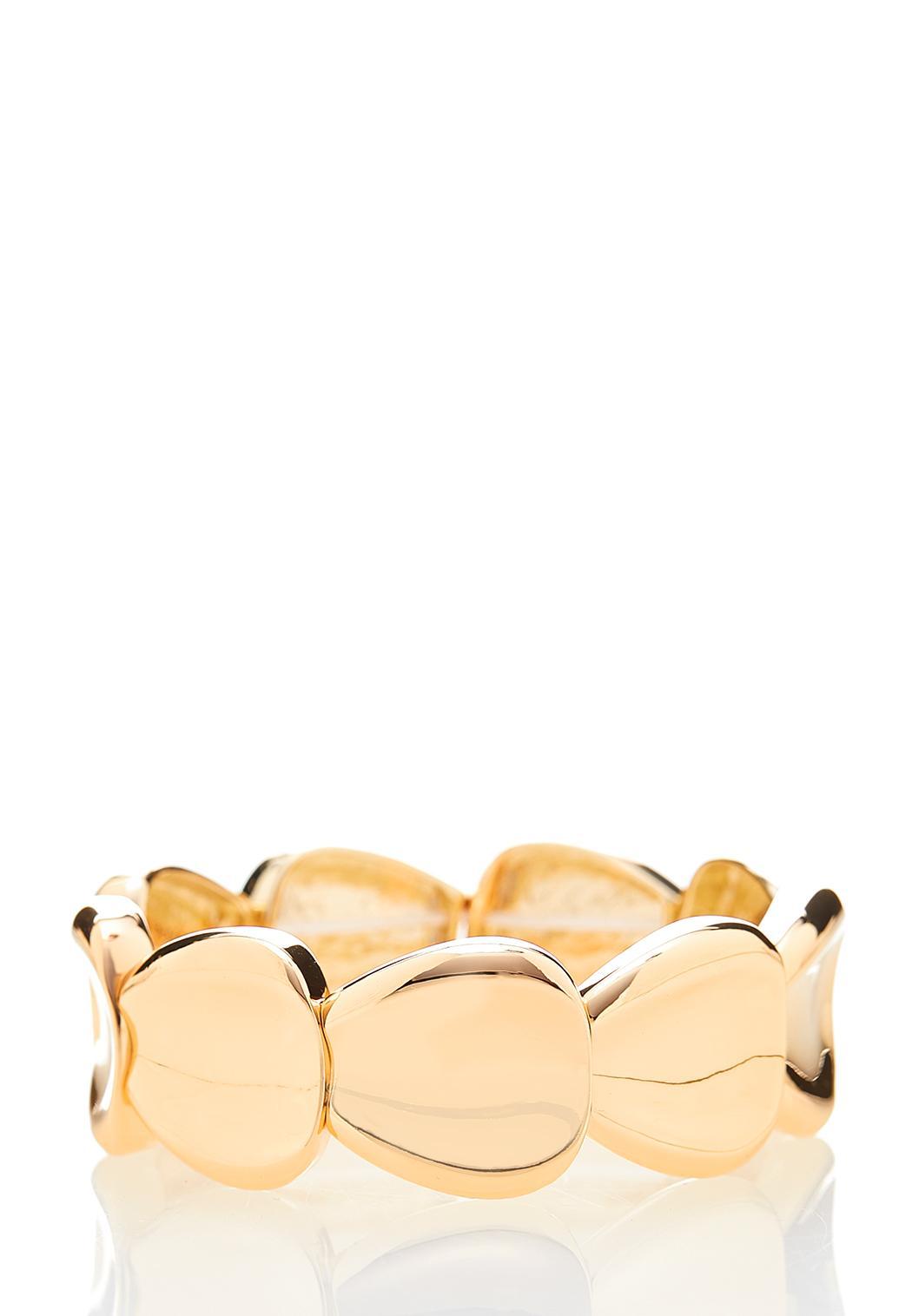 Mod Gold Stretch Bracelet