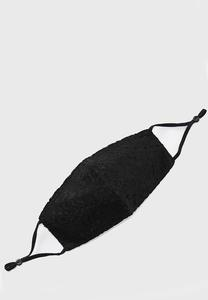 Black Lace Face Mask