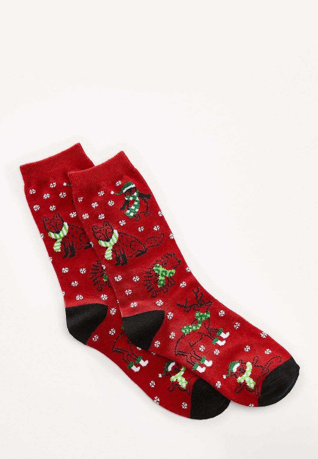 Christmas Animal Socks