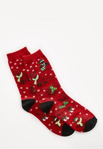 Christmas Animal Socks
