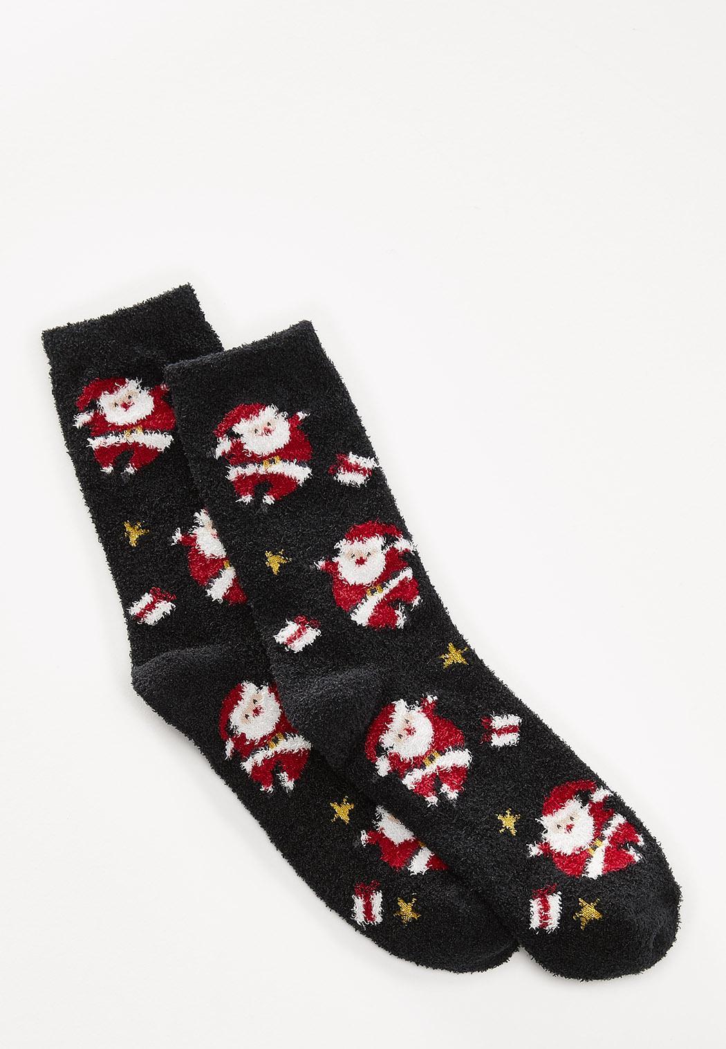 Cozy Santa Socks