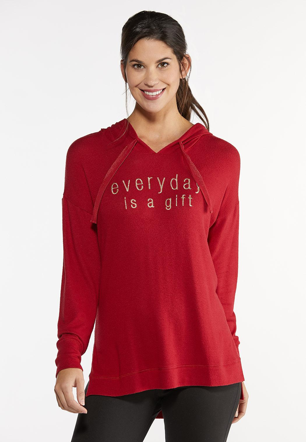 Plus Size Every Day Is A Gift Hoodie