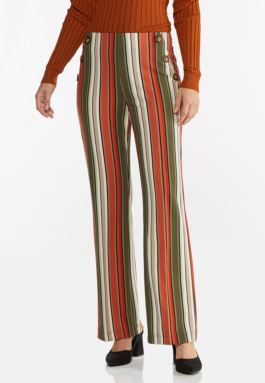 Spicy Striped Wide Leg Pants