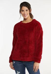 Plus Size Cozy Lurex Top