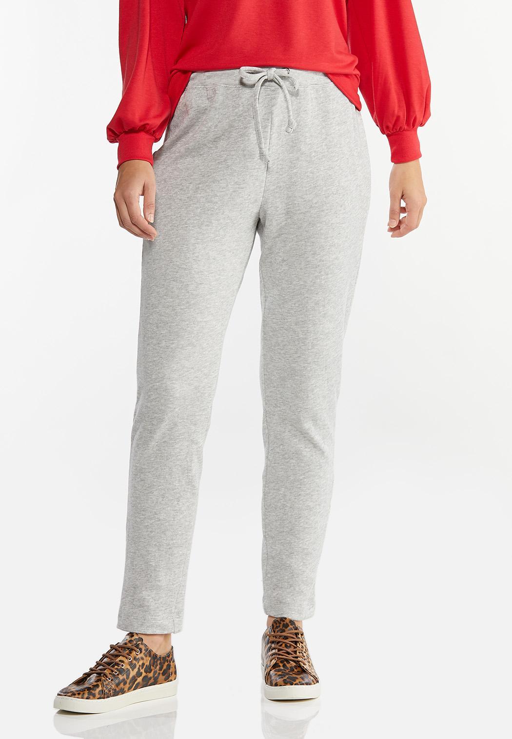Gray Athleisure Pants