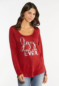 Plus Size Best Gift Ever Top