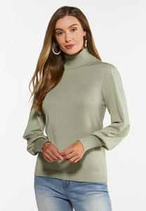 Sage Turtleneck Sweater