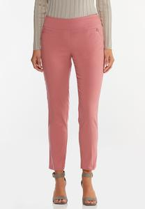 Dusty Rose Bengaline Pants