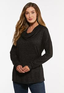 Plus Size Cowl Neck Top