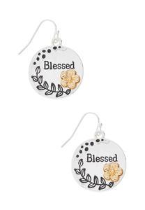 Blessed Earrings