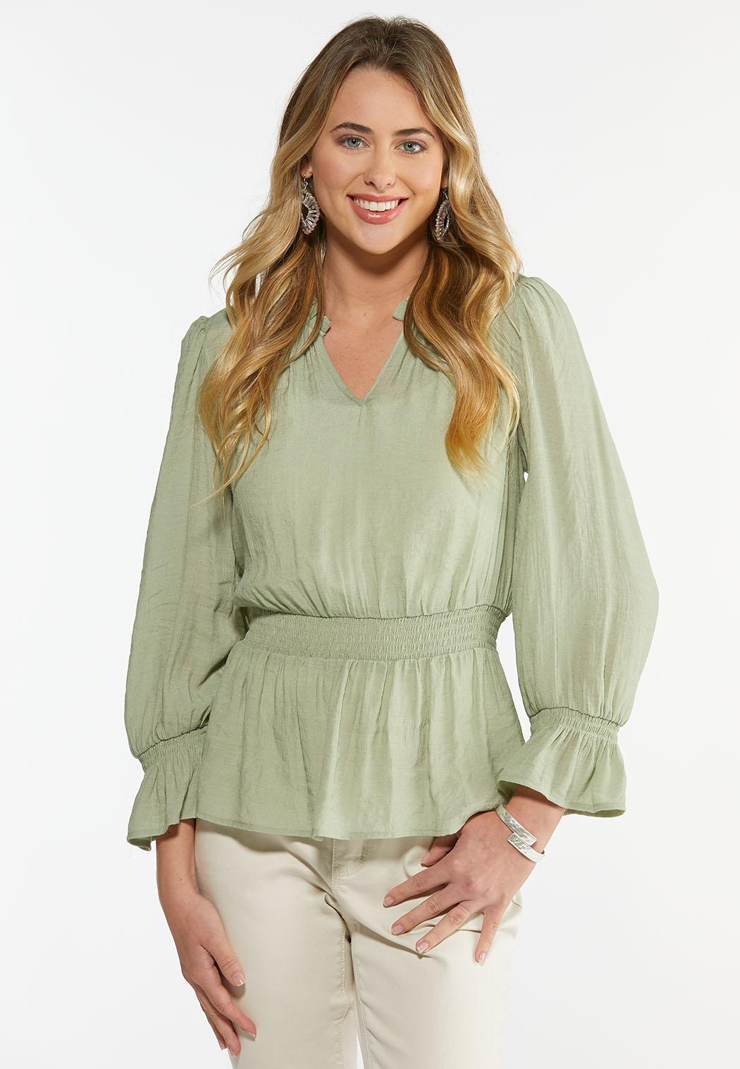Sage Peplum Top Shirts Blouses Cato Fashions There's something so flirty and sophisticated about peplum tops, and bebe's peplum tops will add the extra flare that takes your outfit to a whole new level. sage peplum top shirts amp blouses cato fashions
