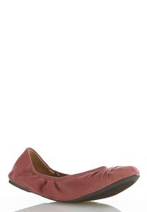 Ruched Scrunch Flats
