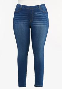 Plus Size High-Rise Jeggings