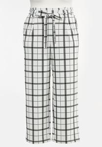 Plus Petite Paperbag Trouser Pants